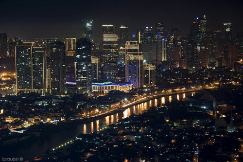 Manila, Philippines Makati Skyline by Ian Zubiri, on Flickr