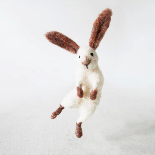 etsy:  (via Sir Hopsalot Easter bunny rabbit handmade from by forestblue)