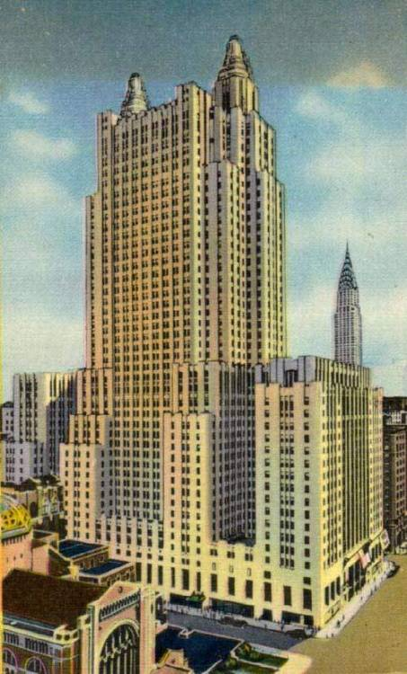 The Waldorf-Astoria.