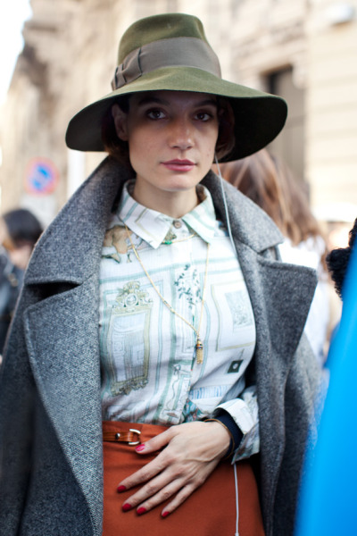 paris street style by The Sartorialist.