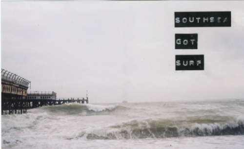 untitled by Eugene Noble on Flickr.SOUTHSEA GOT SURF