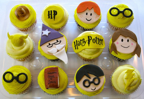 Harry Potter Puppet Palls Cupcakes!