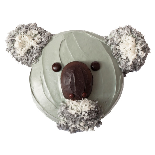 Koala Birthday Cake: If you and your child are a big fan of coconut then you may want to whip up this koala treat. If not, then replace the coconut flakes with something you both like!