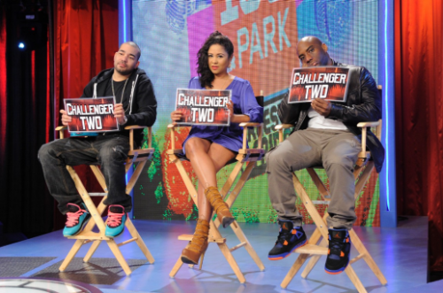 obeyythediamond:  The BreakFest Morning Club On 106 & Park!  (Peep The Kicks Tho)