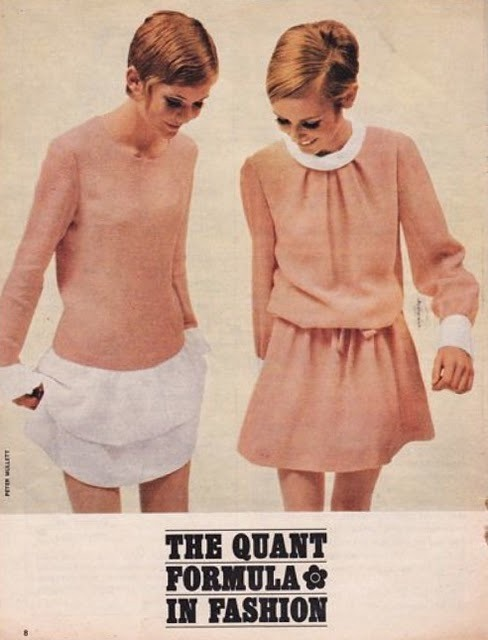 Mary Quant ad, featuring Twiggy Lawson