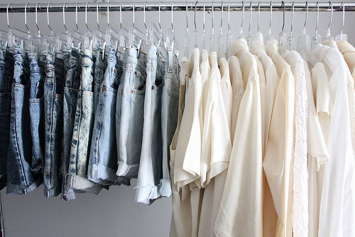 la-sirene-a-la-mode:  Perfect closet.