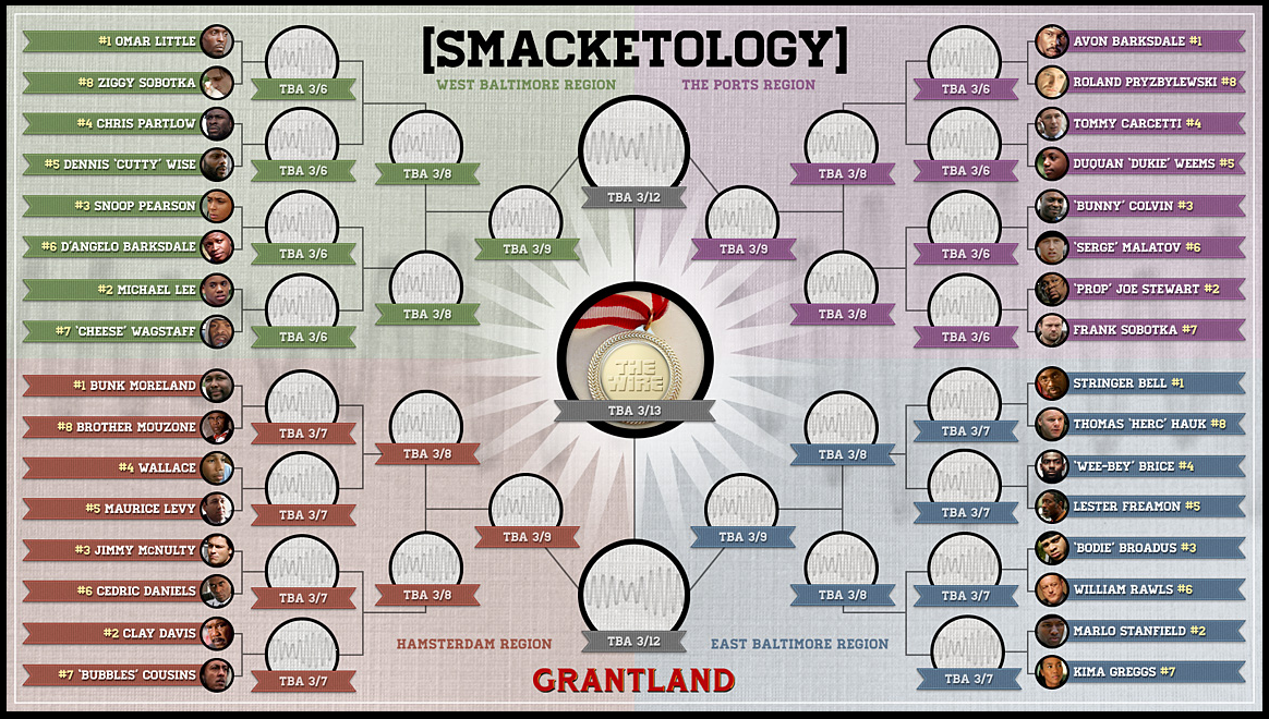 Smacketology : A tournament to determine The Wire's greatest character