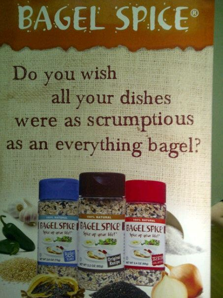 As the official authority on all things related to bagels, I hereby declare that this is not ok. Just get an everything bagel and satiate that craving. End of story. This is the same reason that popcorn ice cream is so wrong; popcorn is meant to be tasted in the form of popcorn and not mutated into ice cream. I promise.