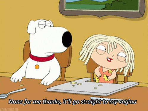Stewie is such a Whore!