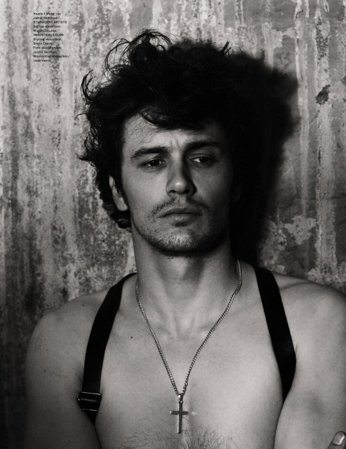 homotography:  James Franco by Mariano Vivanco [MORE]