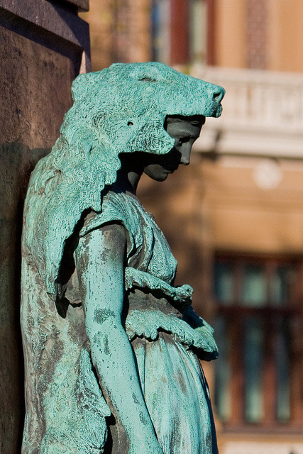 Base of J.L. Runeberg statue on Flickr.