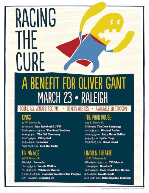 trianglemusic:  Tift Merritt, Bombadil and more join Racing the Cure lineup    PROBLEM: Everything good happens at the same time.