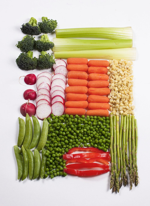 Neat and Tidy Veggies by Danielle Chandler