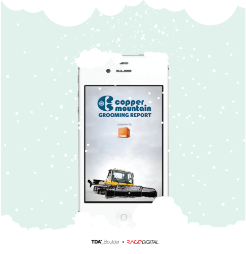 FirstBank Copper Mountain Snow Report by TDA_Boulder + Rage Digital