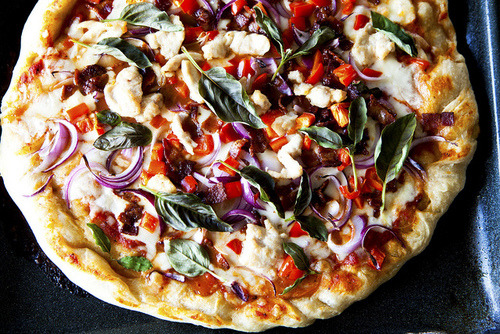 Who needs meat? A vegetarian pizza is just as good!