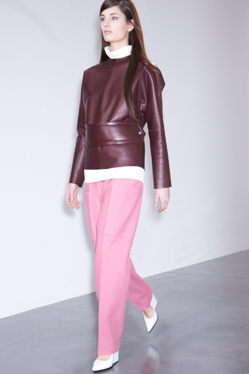 Phoebe Philo really gets it. Celine, Fall 12, Look 16.
