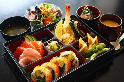 Bento boxes make the best lunch (a little of everything)…