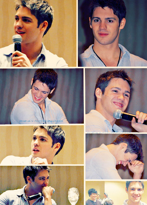 stupidly-in-love:  Steven R McQueen at EyeCon Atlanta (2-4 March 2012)