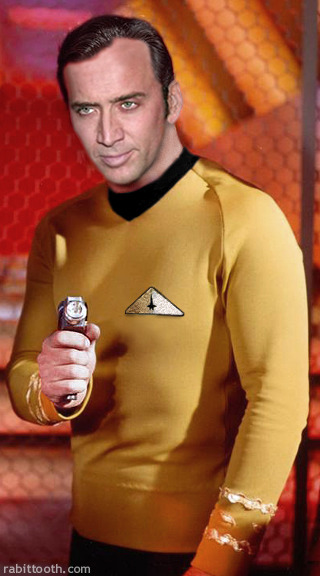 Well, it's not The Rock but then again, he aint no Shatner!
