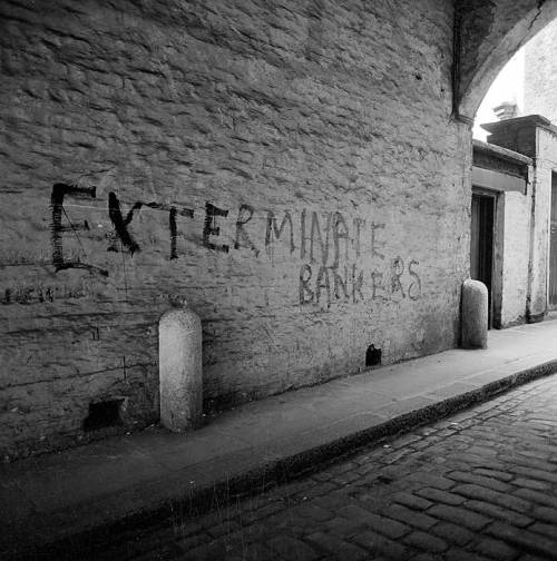 English Heritage Image Explorer:  Graffitti on a wall in French Ordinary Court, beneath Fenchurch Street Station.