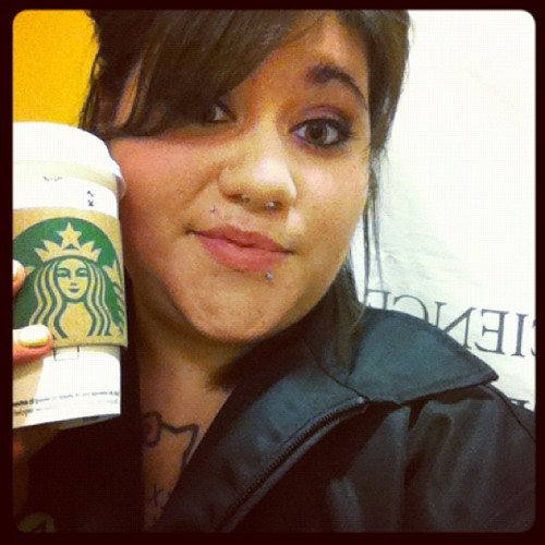 Yay my instructor got me coffee :)  (Taken with instagram)