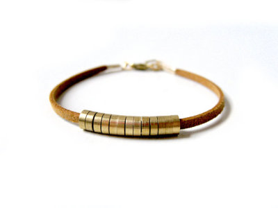 Honey Mustard Bracelet ($28) @ KimDulaney