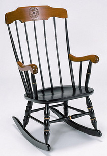 fyuchicago:  Ever wanted your own UChicago rocking chair? You're in luck, chief. Perfect for quiet, soothing relax time while you read some St. Augustine or whatever. Available here for just $474.98 (but can you really put a price on awesome?)