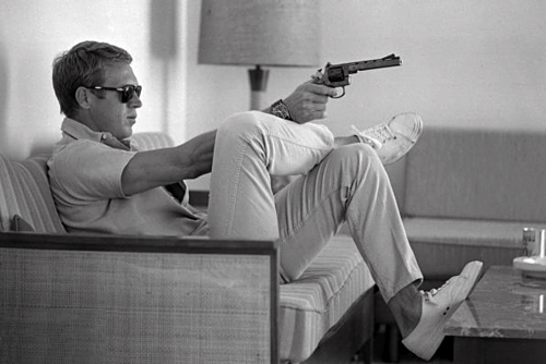 Possibly the coolest man ever: the incomparable Steve McQueen.