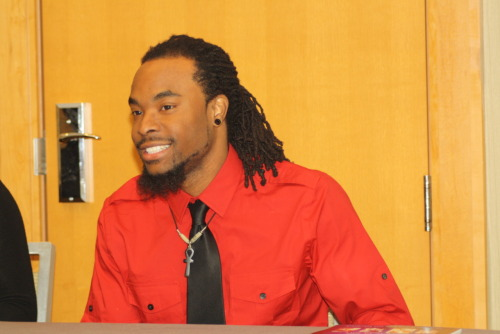 all-black-every-thing:  Me Presenting at the National Conference of Black Studies in Cincinnati 2011! This year it is in ATL March 7 to 10th!