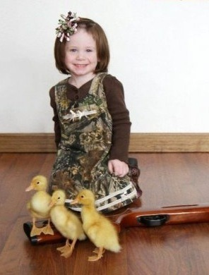 "She was probably really good at ""Duck Hunt""."