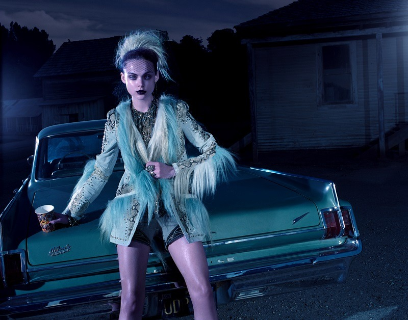 Jacques Olivar / Marie Claire Italia March 2012.