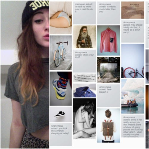 Califoniagoffs, also found on blogspot,is a stylish tumblr where you can find urban mixed with fashion and lots of new innovate clothing labels. She's definitely got style, and that shows on her tumblr.  CALIFORNIAGOFFS.TUMBLR.COM