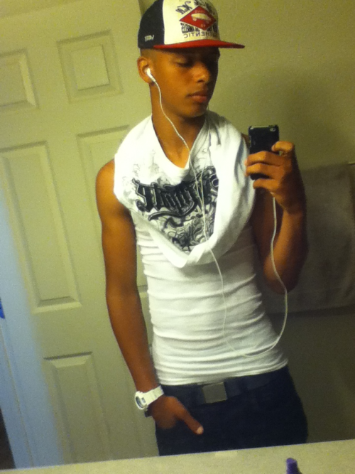 Swag, g shock, sexy, tank top, hat , iPod , head phones ,