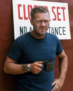 Mr Steve McQueen. Much imitated, never bettered.