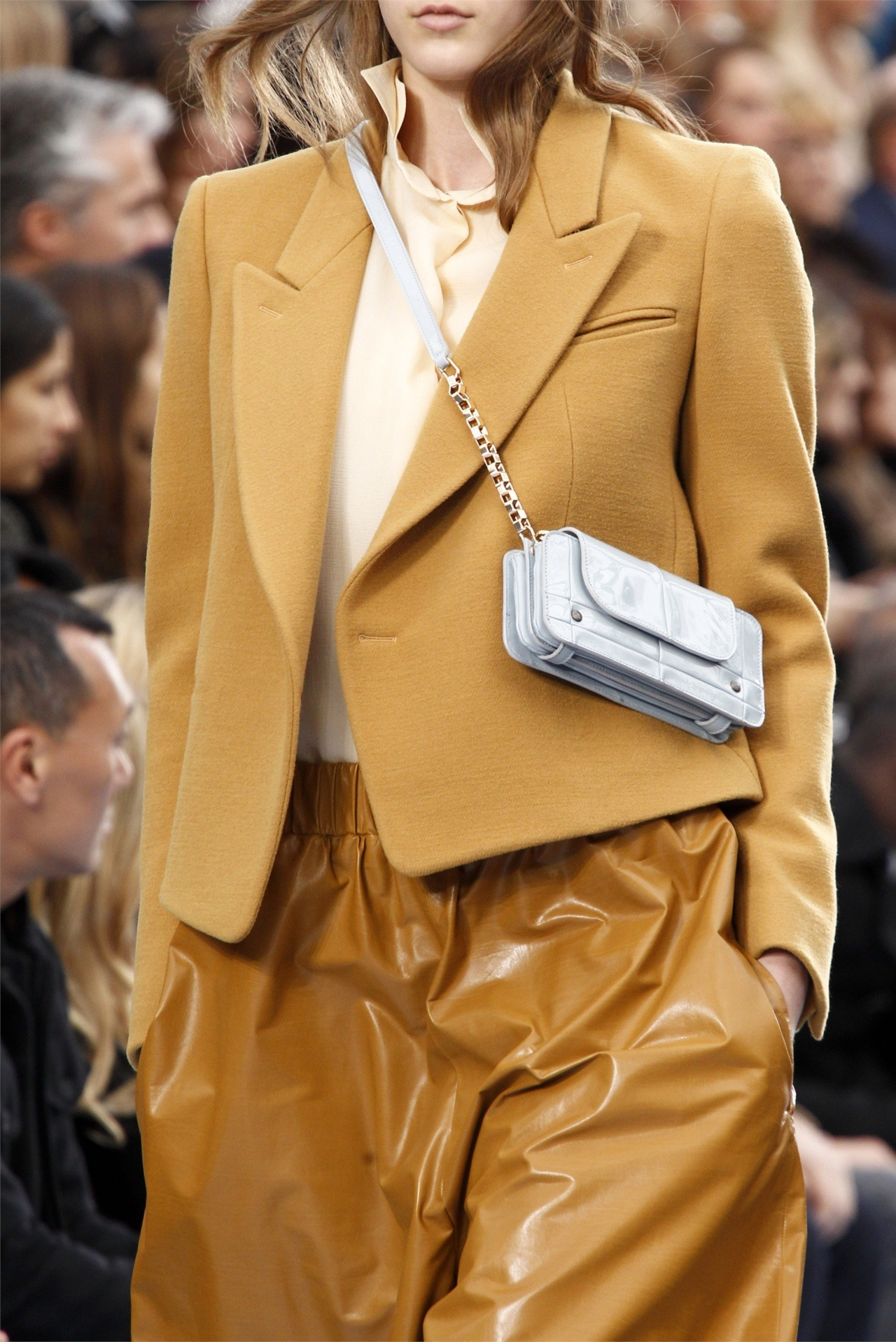 Details: Camel is back on Chloe fw12.