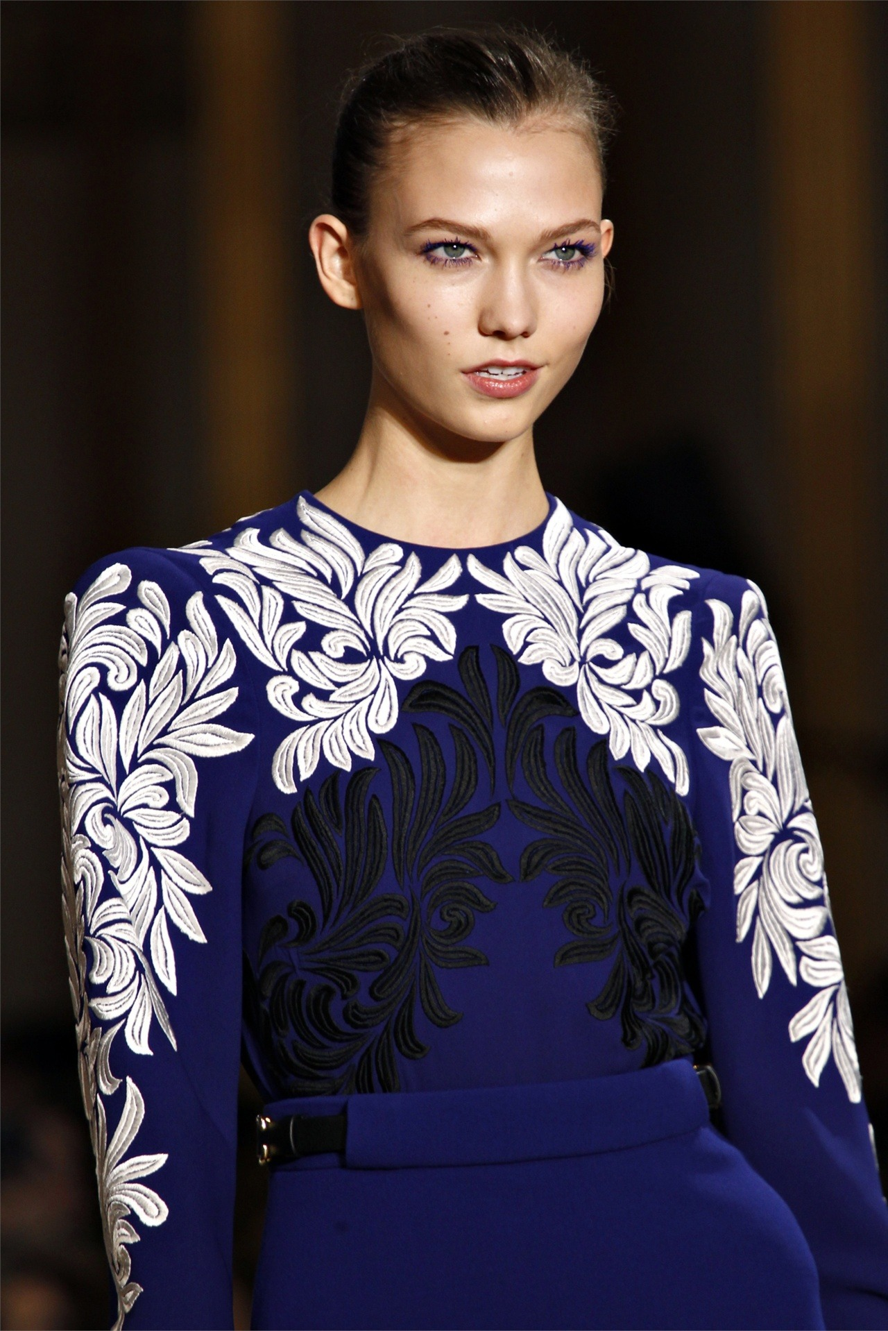 Supermodel Karlie Kloss in Stella McCartney fw12.
