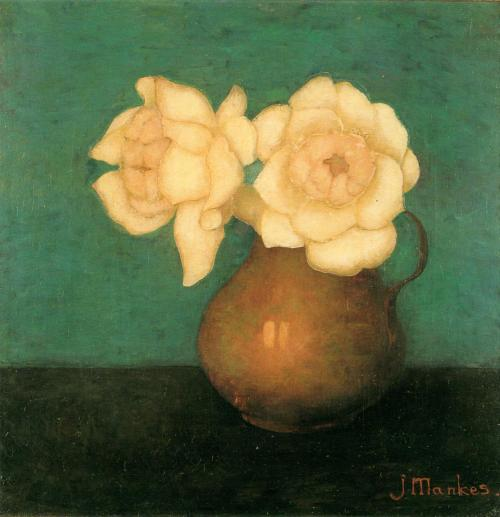 'Rozen in een Vaas' - Jan Mankes.