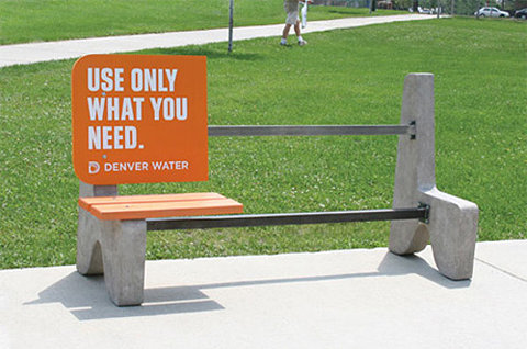 (via FFFFOUND! | Scene 360 Illusion » Clever and Creative Bench Advertisements - Amazing art and design!) awesome