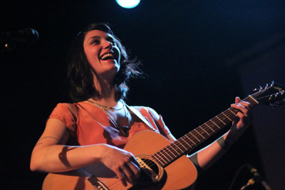 (via Sharon Van Etten At The Music Hall of Williamsburg | American Songwriter) Sharon was worth missing the last L train for.