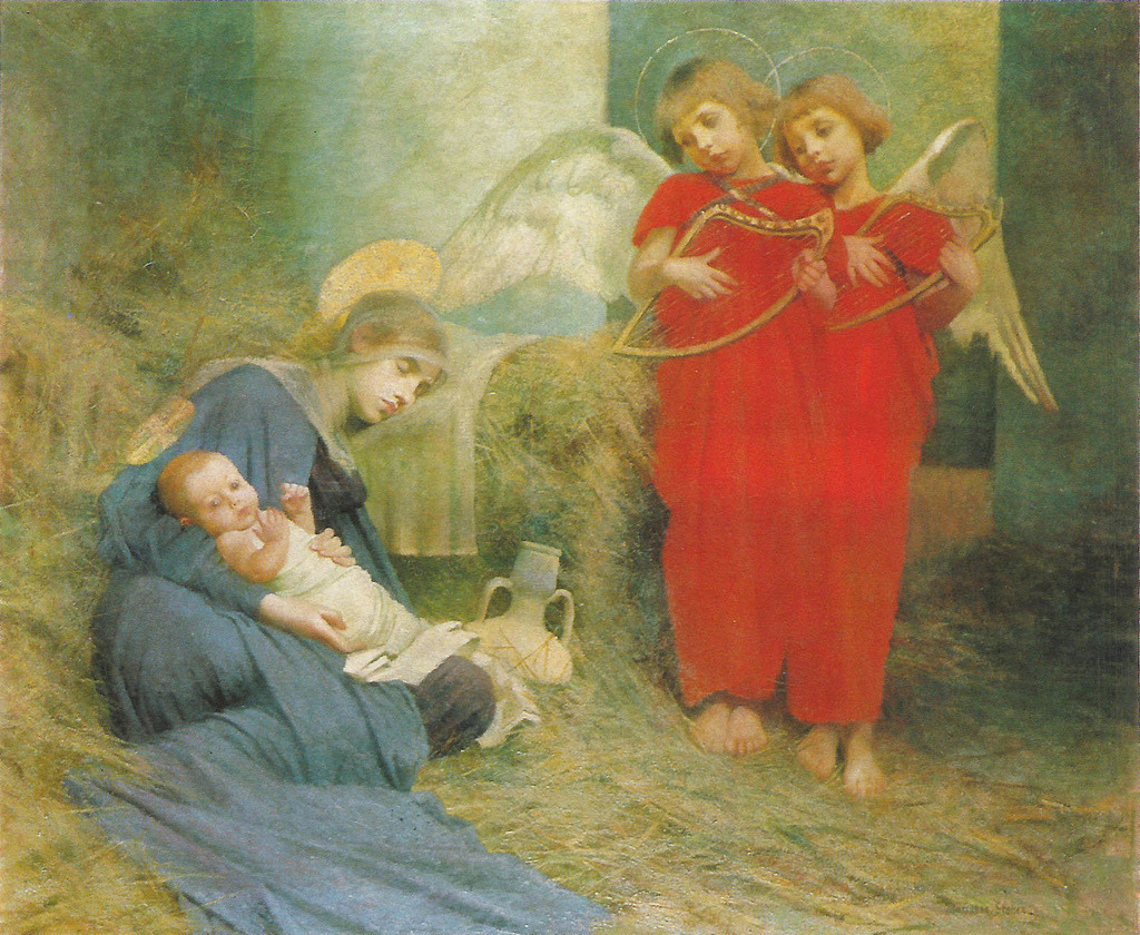 Angels Entertaining the Holy ChildMarianne Stokes