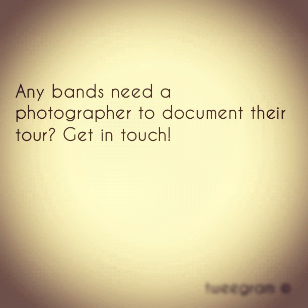 #tweegram #photographer #tour #livemusic #bands #documentary #popular #ig #iger #instagood #instagram #musicgram #webstagram #iphonesia #dj #djs #music #musicians  (Taken with instagram)