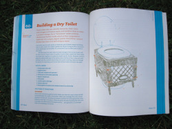 "berlinfarmlab:  I just bought ""Making it: radical home Ec for a post-consumer world"", the new book of Root Simple, the writers of Urban homestead. The book is an extended guide into DIY way of living. After reading it you can make, for example, your own natural shampoo and laundry soap, homemade vegetable stock, medicinal honey, worm farm, a native pollinator habitat while you can learn how to slaughter a chicken.  Some things are pretty radical, such as how to make your own reusable cloth pads, but I cannot judge until I test it myself.Off to brew my own beer!"