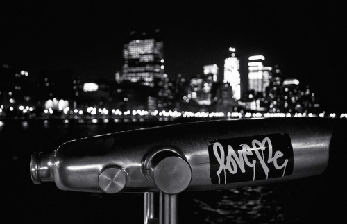Love Me - Night Evocations - Hudson River Park - New York City by Vivienne Gucwa on Flickr.