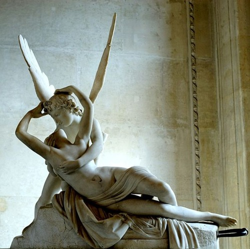 I love this! Antonio Canova,  Psyche Revived by Love's Kiss.