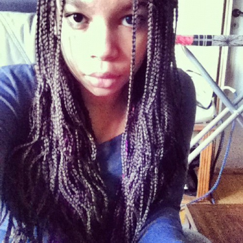 #african#girl#braids#best#fashion#creol#lips#ig#instamood#igdaily#instagram#iphone#gothenburg#sweden#2012#mulatto#style#hair#done (Taken with instagram)
