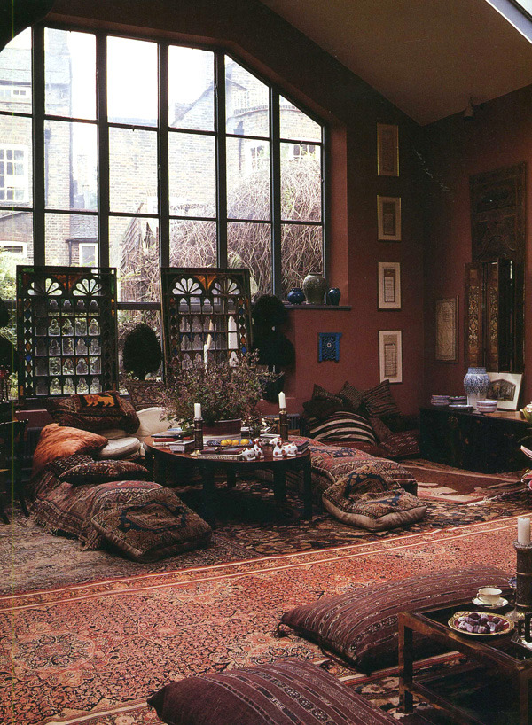 I want to be in this room drinking tea and reading a novel RIGHT NOW.