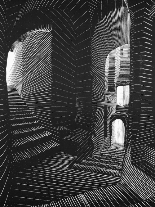 Covered Alley in Atrani, M.C. Escher