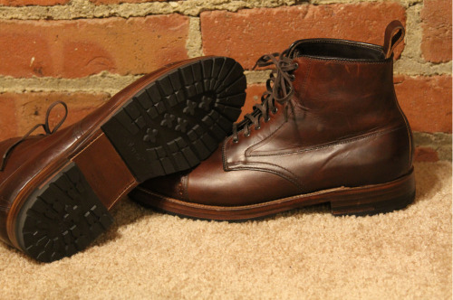 I'm thinkin' I might throw some commando soles on my 1,000 mile boots.