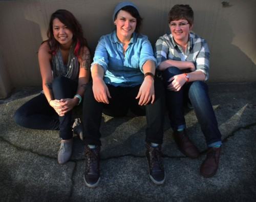 the adorable authors of Queer Girl City Guide: Portland, Oregon