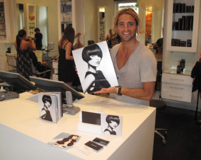 Joey Scandizzo finalist in 2010 Hair Expo Awards is thrilled with his beautiful Portfolio Album and Mini Portfolio which is proudly displayed on the counter at Rokk Ebony. A flick through the albums and you can see why he gets the awards…stunning style and beautiful images (photography by Andrew O'Toole).